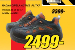 Radna cipela ACTIVE, plitka