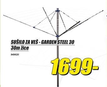 Sušilo za veš Garden Steel 30
