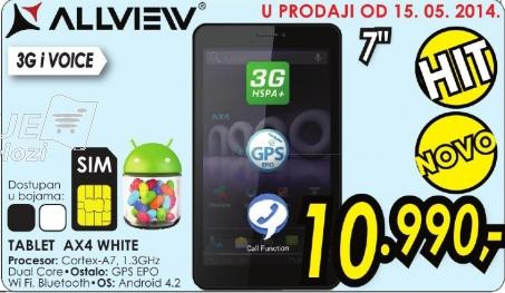 Tablet Ax4 White Allview