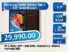 Tablet Galaxy Tab 3 8.0 Gold Brown