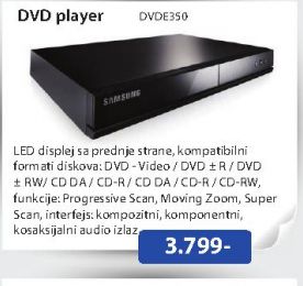 DVD Player  E350