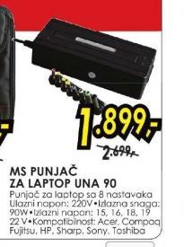 Punjač za laptop UNA 90