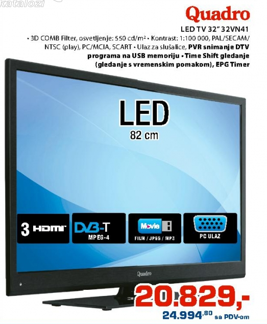 Televizor LED 32VN41
