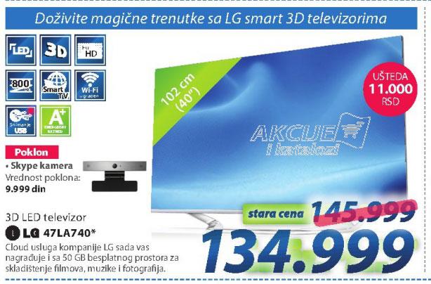 Televizor 47LA740