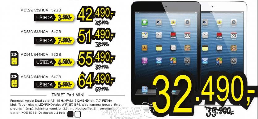 Tablet iPad mini MD528HC/A