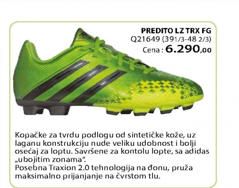 Fudbalske kopačke PREDITO LZ TRX FG