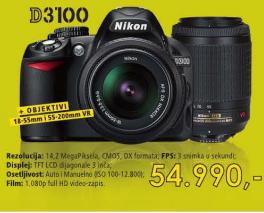 Fotoaparat D3100