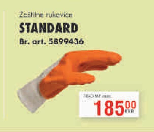 Rukavice zaštitne Standard