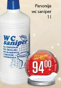 WC saniper
