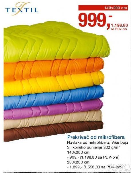 Prekrivač od mikrofibera Textil