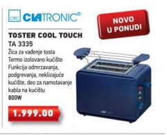 Toster Cool Touch TA 3335
