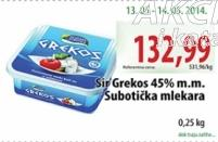 Feta sir 45% mm