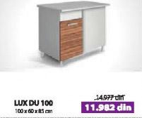 Kuhinjski element LUX DU100