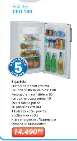 Frižider CFO140