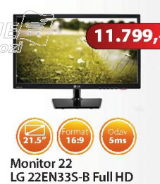 Monitor 22EN33S- B Full HD