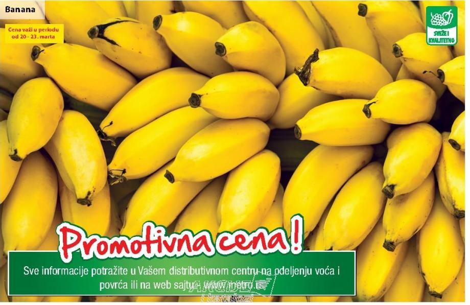 Banana - promotivna cena