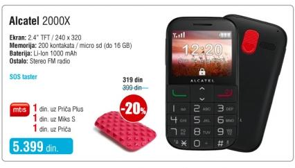 Mobilni telefon Onetouch 2000K