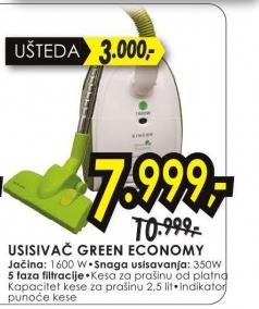 Usisivač Green Economy