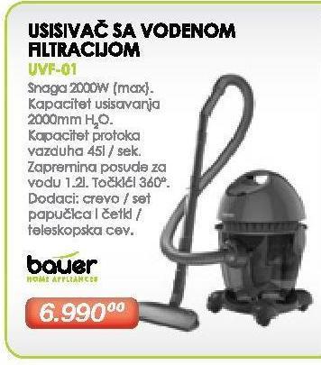 Usisivač - Vodeni filter UVF-01
