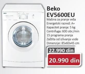 Veš Mašina Ev 5600 Eu