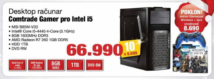 Računar Gamer Pro Intel i5