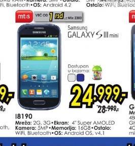 Mobilni telefon Galaxy S3 mini I8190