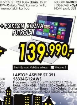 Laptop S7 391 53334G12AWS