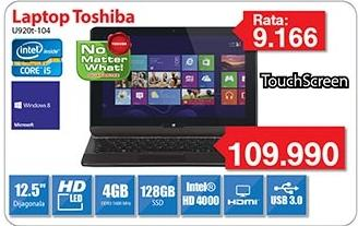 Laptop Satellite U920t-104