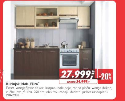Kuhinjski blok Eliza