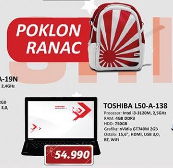Laptop računar L50-A-138 SATELLITE