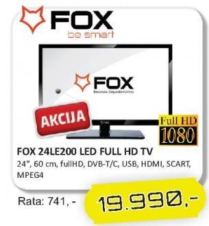 "Televizor LED 24"" 24LE200"