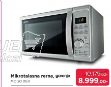 Mikrotalasna rerna MO 20 DS II