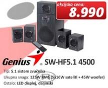 Zvučnici SW-HF 5.1 4500