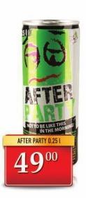 Energetsko piće after party