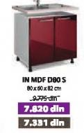 Kuhinjski element In Mdf D80s Moka