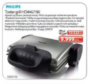 Toster grill HD4467/90
