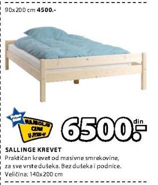 Krevet Sallimge