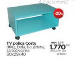 TV polica Costy