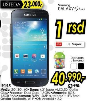 Mobilni telefon Galaxy S4 Mini i9195