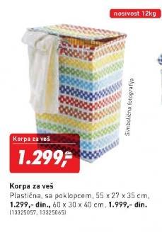Korpa Za Veš 55x27x35