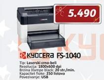 Štampač KYOCERA Ecosys FS-1040