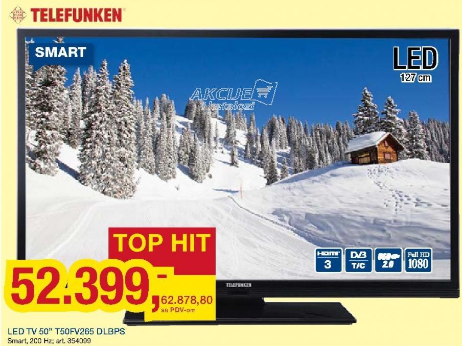 """Televizor LED 50"""" T50fv265 Dlbps"""
