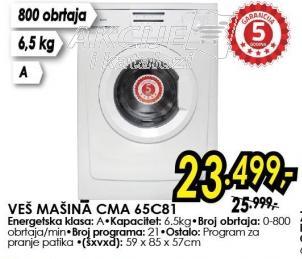 Veš Mašina CMA65C81