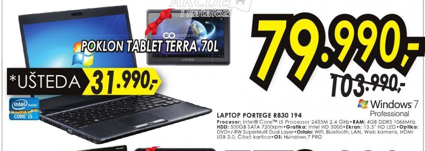 Laptop Portege R830-194