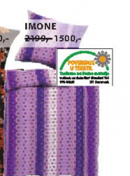 Set krep posteljine Imone