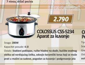 Aparat za kuvanje CSS-5234
