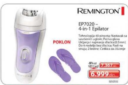 Epilator EP7020, 4 u 1