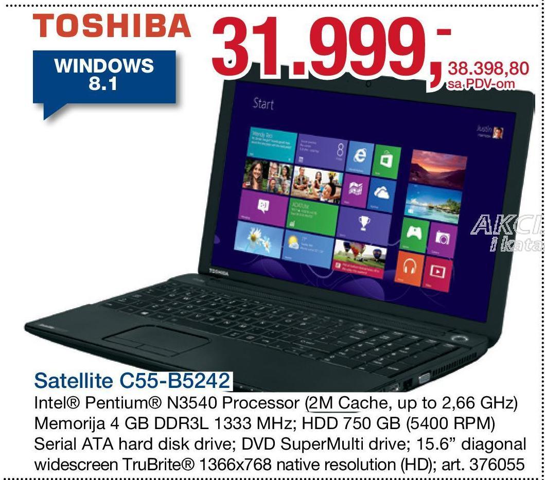 Laptop C55 B5242
