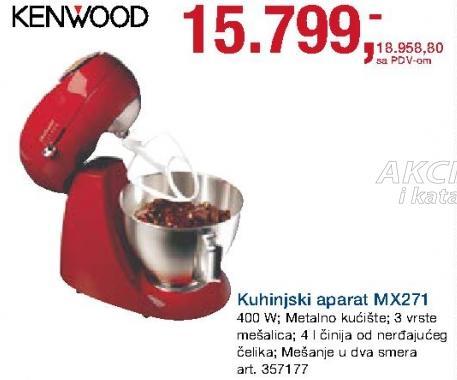 Kuhinjski aparat Mx271