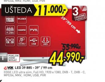 Televizor LED LCD 39 885